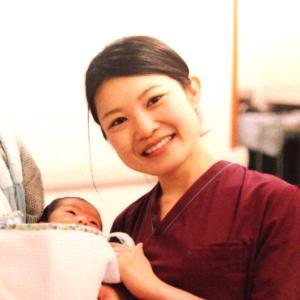 初めてのお産介助の報告