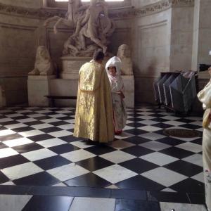 セント・ポール大聖堂での挙式裏側