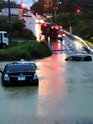 【大分】「車が水没。助けて」…バーベキューの18人が渓谷で孤立か