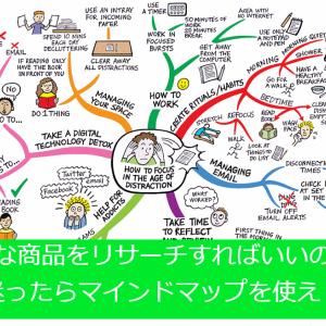 33.「電脳せどり × マインドマップ」リサーチ商品は無限にある!
