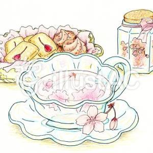 春の香り『桜茶』のすゝめ~料理、おやつレシピ付~