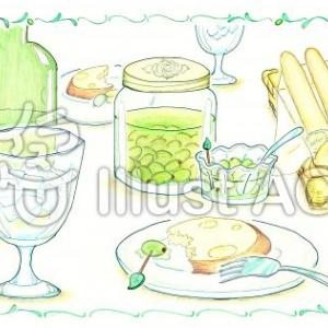ハーブでおやつタイム☆ポテトとアイスティーのアレンジ