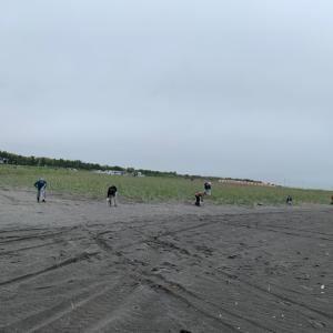ゴミゼロの日〜勇払前浜〜の…