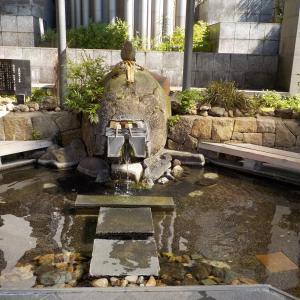 【山代温泉 源泉 足湯】観光ついでに無料で利用出来る足湯