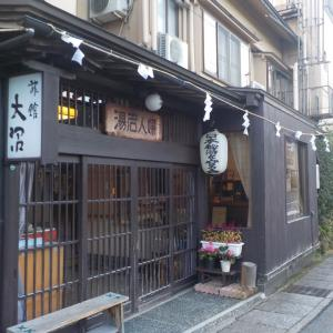 【東鳴子温泉 旅館大沼】JR東日本のポスターになった露天風呂