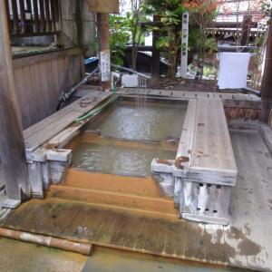 【渋温泉 足湯 のふとまる】長野の方言が残る足湯