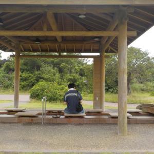 桜島溶岩なぎさ公園足湯