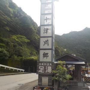 【道の駅 十津川郷 足湯】奈良県の源泉かけ流しの足湯