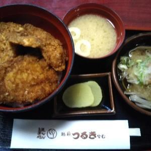 福井名物 ソースかつ丼 おろし蕎麦