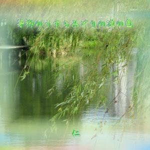 フォト瘋癲老仁575『 芽柳のうすらみどりの波の色 』zwy0203