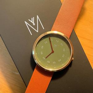 素敵な時計が届きました‼️MAVEN『DUSTY OLIVE BROWN 40mm』