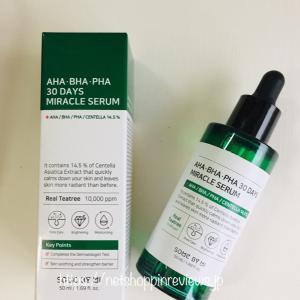 Some By Mi(サムバイミー) AHA, BHA, PHA 30 Days Miracle Serum, 50 ml