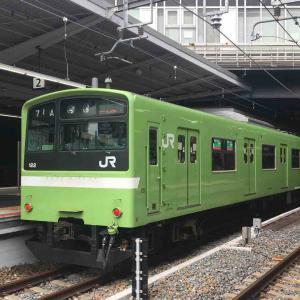 新大阪駅にて 綺麗な緑色の201系 まだまだ走れ (´∀`)/