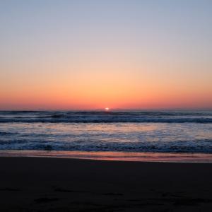 【絶景】千葉県 九十九里浜の日の出を見に行く!