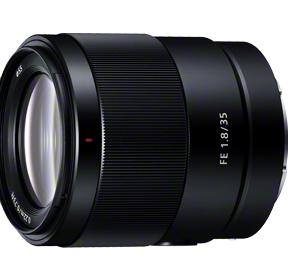 【発売日決定】Sony Eマウント用標準単焦点レンズ FE 35mm F1.8