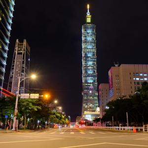 【台湾旅行】夜の台北101周辺を歩いてみた(画像あり)