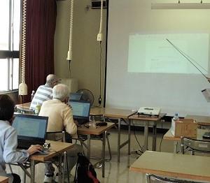 パソコン教室です。