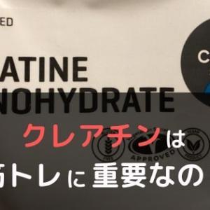 筋トレにおけるクレアチンの重要性を調べた