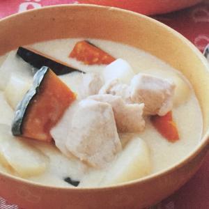 「ẩm thực nhật」SÚP CỦ CẢI TRẮNG THỊT GÀ