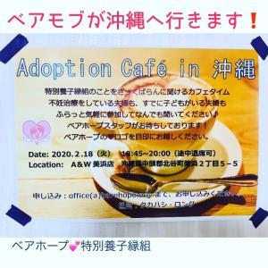【2月18日】Adoption Cafe in 沖縄開催します!
