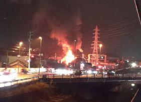 【動画・画像】岐阜県多治見市宝町付近で火災!火事の原因とは?