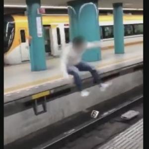 【動画】奈良市職員 不祥事!ホームで線路越しジャンプし転落!誰で名前や顔画像は?!近鉄奈良駅