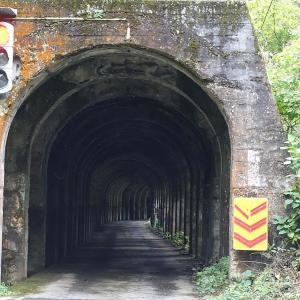 東赤谷連続隧道(スノーシェッド)補修工事完了後の姿