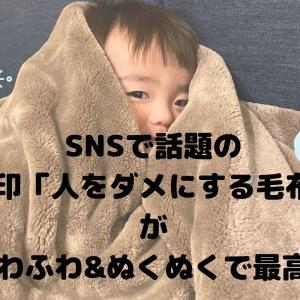 【無印良品】人をダメにする毛布(あたたかファイバー厚手毛布)がコスパ・触り心地・扱いやすさすべてにおいて最強かもしれない♡