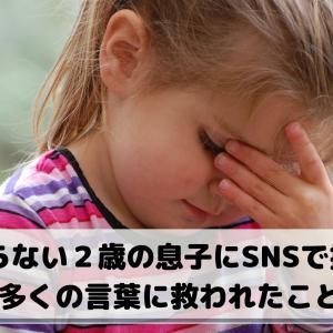 しゃべらない2歳の息子にSNSで指摘が。多くの言葉に救われたこと