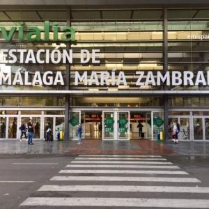 Renfe 鉄道マラガ駅 -Málaga, María Zambrano 駅-