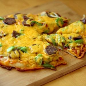 子どもと一緒に手作りピザ!キッチンエイド・スタンドミキサーで簡単サクサクのピザ生地ができました♪
