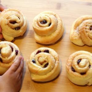 ふわふわシナモンロールの簡単レシピ☆アメリカ生活・自宅待機中に子どもと家でパン作り!