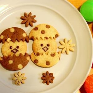 イースタークッキー作りとアメリカで初めての卵染め☆