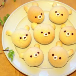 おうち時間に子供と楽しくパン作り!子供が喜ぶカメロンパンと白クマパンができました♪