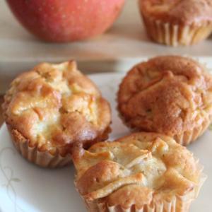 【バター・乳製品不使用】ふわふわしっとり☆オイルで作るりんごケーキの簡単レシピ。
