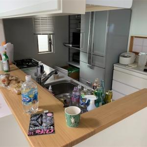 キッチンの片付けはイライラする。