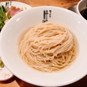 【麺's食堂 粋蓮】プレミアム醤油つけ麺 (静岡県焼津市焼津) 第1468回回