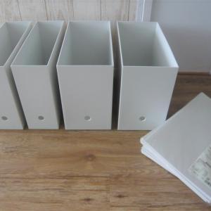 無印良品のファイルボックスと個別フォルダでわかりやすく収納