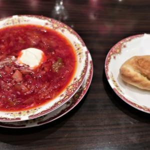 【吉祥寺】カフェロシアでロシア料理のランチ/ バラジャム付の紅茶♪