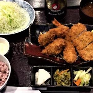 【とんかつ濱かつ】デザートビュッフェと牡蠣ふらいとヒレ膳@小金井公園店