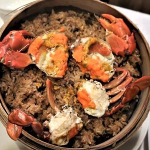 【台北】欣葉(シンイエ)南西店で名物のカニおこわと、豚バラ肉の柔らか煮
