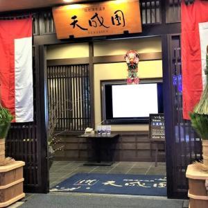 【箱根】日帰り温泉で人気の天成園に宿泊(部屋、施設編)