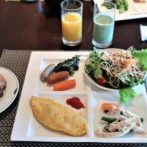 インターコンチネンタル東京ベイ宿泊記③~シェフズライブキッチンで朝食ブッフェ