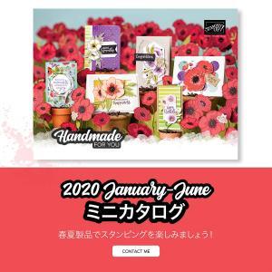 2020 January–Juneミニカタログ一般販売&Sale-A-Bration開始