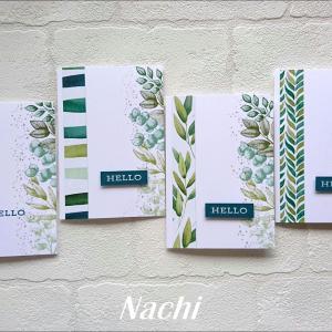 カタログと一緒に送る簡単カード