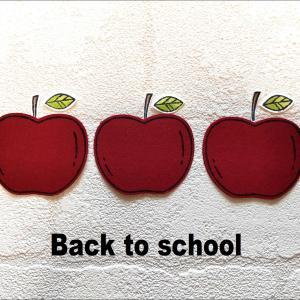 新学期とりんご