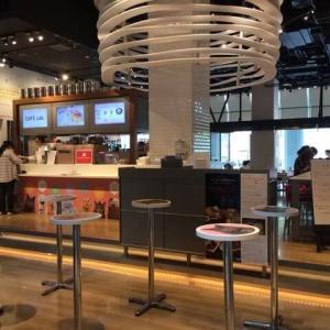 【カフェラボ グランフロント大阪】開放的な空間で超お得モーニング