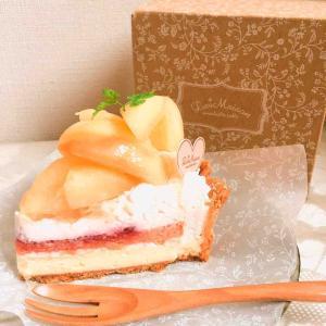 〔sweets〕白桃とリコッタチーズクリームのタルト / ラ・メゾン アンソレイユターブル