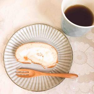 〔sweets〕堂島ピーチロールと手作りカルボ