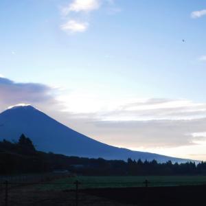 2019.9.24(火)本年最後の渓流釣り、富士山つるし雲,芝川海苔?